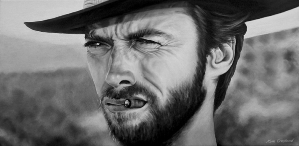 Clint Eastwood by chaosart